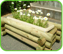 木製プランター